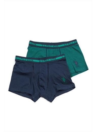U.S. Polo Assn. 2'li Boxer Yeşil